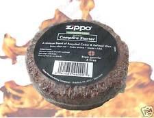 Zippo Campfire Fire Starter Cedar Puck 44000 FREE SHIPPING *NEW*