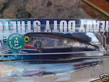 Mann's Heavy Duty Stretch 12+ Bigfish Troll Lure Sdrb1287-2M - Black Back Mylar