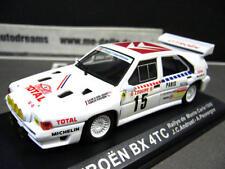 CITROEN BX 4TC Rallye Monte Carlo 1986 #15 Andruet Total Gr.B IXO Altaya Bo 1:43