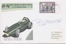 HAND SIGNED TONY BROOKS AUTOGRAPH FIRST DAY STAMP COVER 1979 GREAT NAMES 3