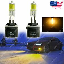 2x 3000K Golden Yellow 880 899 885 884 893 Halogen Fog Light Bulbs DRL Headlight