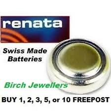 RENATA 321 SR616SW Swiss Watch Cell Battery Silver Oxide 1.55V New X 1,2,5,10