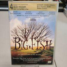 Big Fish Ewan McGregor 60% Off 4+ Dvd $2 Each