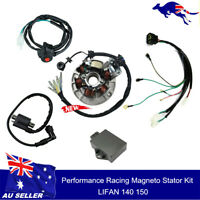 Magneto Stator CDI Wiring Coil Kit  for 140cc Lifan Pit Dirt bike SSR SDG