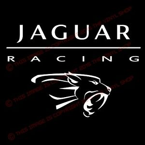 JAGUAR RACING LOGO X Type XK8 XKR S XJR XJ8 XJ6 Racing Decal sticker