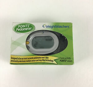 Weight Watchers Points Pedometer Tracking System 2009 Walking Walk Track