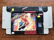 Last Action Hero SNES Super Nintendo Empty Box Only