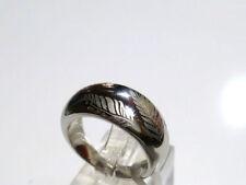 Modeschmuck-Ringe aus Edelstahl ohne Stein mit Ø) 58 (18,4
