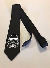 Star Wars , Storm Trooper Necktie, Black Tie