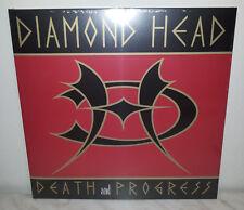 LP DIAMOND HEAD - DEATH AND PROGRESS - RED