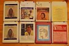 Vintage 8 Track 8 cartuchos de diversos mezclados todos en muy buena condición pedido Gran Selección ST14