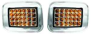 2003 2004 2005 2006 07 Hummer H2 Crystal Clear LED Signal / Parking Light Pair