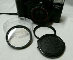 Canon AF35ML 49mm Step Up Ring, UV Filter and Lens Cap - Protect Your Camera