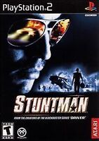 STUNTMAN game complete in case w/ manual for Playstation 2 PS2 Clean Disc!