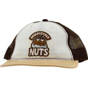 M&Ms Completely Nuts Snapback Cap (brown)