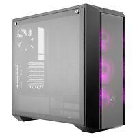 Cooler Master MasterBox Pro 5 RGB ATX Mid-Tower Desktop PC Case, DarkMirror