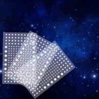 Addie /& Emma's Realistic Starry Night Super Bright 824 Stickers Glow In The Dark