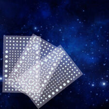 Realistic 3D Domed Glow In The Dark Stars 606 Dots For Starry Sky Perfect BLUE