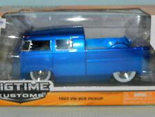 Jada 1/24 1963 Volkswagen Bus Pick Up (Kombi Ute) Metallic Blue MiB