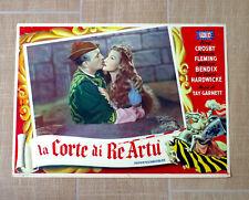 CORTE DI RE ARTÙ fotobusta poster A Connecticut Yankee in King Arthur's Cour R77
