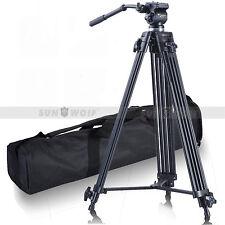 Zubehör For Kamera-Stativ Professionelle WF-717 Video-Stativ Fluid-Videokopf-Kit