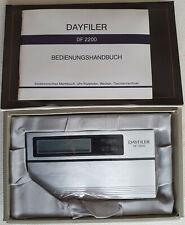 Vintage Seiko DF-2200 Dayfiler – Alarm, Calendar, Calculator, Memo etc. neu ovp