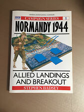 OSPREY CAMPAIGN SERIES 1 - NORMANDY 1944