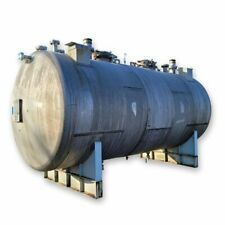 Used 6000 Gallon Horizontal Stainless Steel Pressure Tank With Center Bulkhead