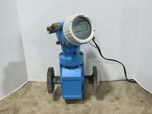 Endress Hauser Model Promag P 200 Electromagnetic Flow Meter Power Tested Only