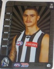 2015 Teamcoach Silver Card #13 Marley Williams - Collingwood