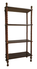 Etagere scaffale in legno - metà 900 - scaffalatura - modernariato - vintage
