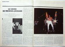 """Mag 1984: MICHAEL JACKSON_""""Prénom CARMEN"""" de GODARD_LINO VENTURA_ETTORE SCOLA"""