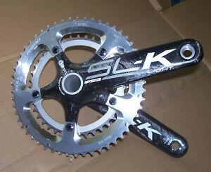 FSA sl-k Light BB30 crankset 39-53 172.5 10 speed w/wavey washer great cond.