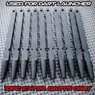 10PC Ballistic Dart Gun Launcher Tactical Shooting Darts Arrows Bolts Extra