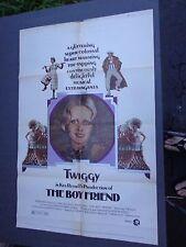 * THE BOYFRIEND- 1 SHEET-MOVIE POSTER-KEN RUSSELL's -TWIGGY SUPER MODEL -1971