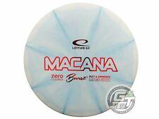 NEW Latitude 64 Zero Hard Burst Macana 174g Lt Blue Red Foil Putter Golf Disc