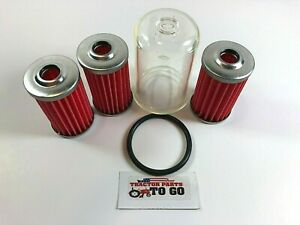 JOHN DEERE TRACTOR FUEL FILTER/BOWL KIT JD650,670,750,2210,2500,2653,4010,4100++