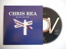 CHRIS REA : GO YOUR OWN WAY - YOU CAN GO YOUR OWN WAY [CD SINGLE] ~ PORT GRATUIT