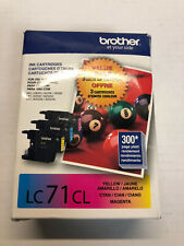 Genuine Brother LC71CL Ink Cartridge Exp 01/2019