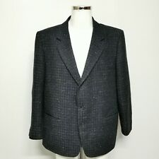 Centaur Gold Collection Blazer Jacket Uk 48 Men's Navy Blue Black Check 413657