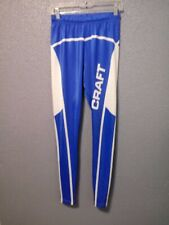 Craft Scandinavia Large Blue&White Cycling Tights Pants