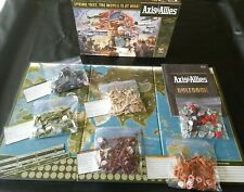 AXIS & ALLIES Spring 1942 The World is At War WWII BOARD GAME Avalon Hill 100%