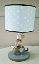 Lambs Ivy Elephant Giraffe Turtle Lamp with Shade