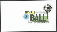 US 5205 Have a Ball Soccer DCP FDC 2017