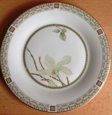 """Royal Doulton WHITE NILE Large DINNER PLATE 10.5"""" 26.5cm  Fine China LOVELY COND"""