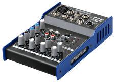 TABLE MIXAGE DJ 5 CANAUX EGALISEUR 2 BANDES PA CONTROLEUR MIXER PROFESSIONNEL