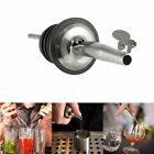2X Stainless Steel Liquor Spirit Pourer Flow Wine Bottle Pour Spout Stoppers