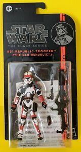 "Star Wars The Black Series REPUBLIC TROOPER 3.75"" #31 The Old Republic Figure"