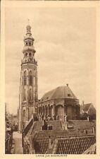 HOLLAND: Lange Jan, Middelburg - Sepia Tone - Unposted c.1920's