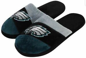 Philadelphia Eagles  Men's Color Block Slide Slippers Small to X-Large